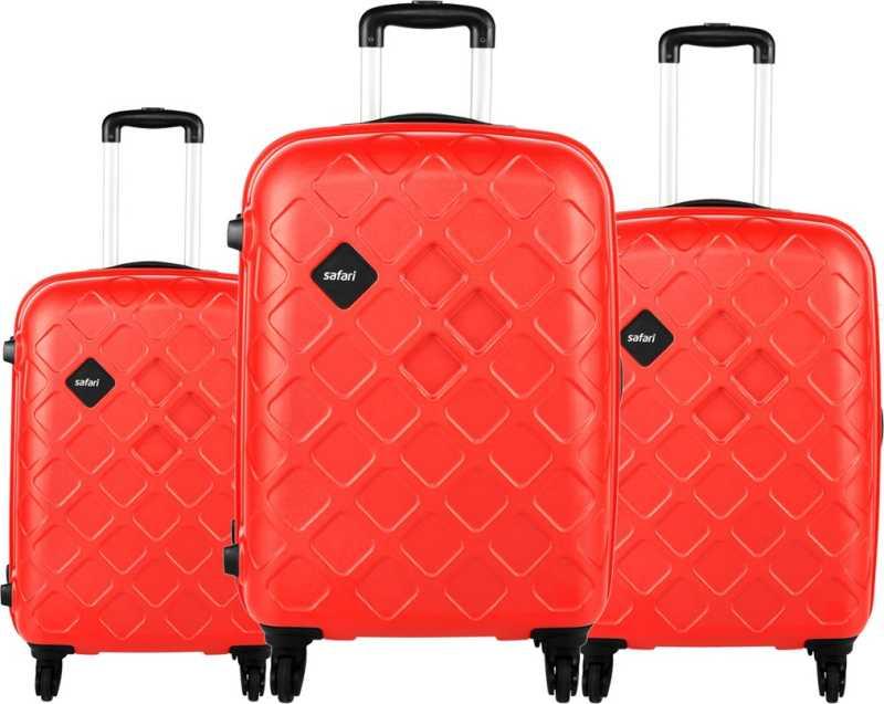 SAFARI  Hard Body Set of 3 Luggage – MOSAIC Set Of 3