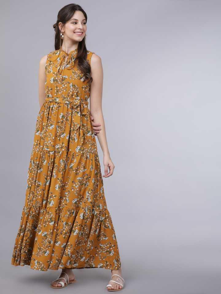 Tokyo Talkies  Women A-line Multicolor Dress
