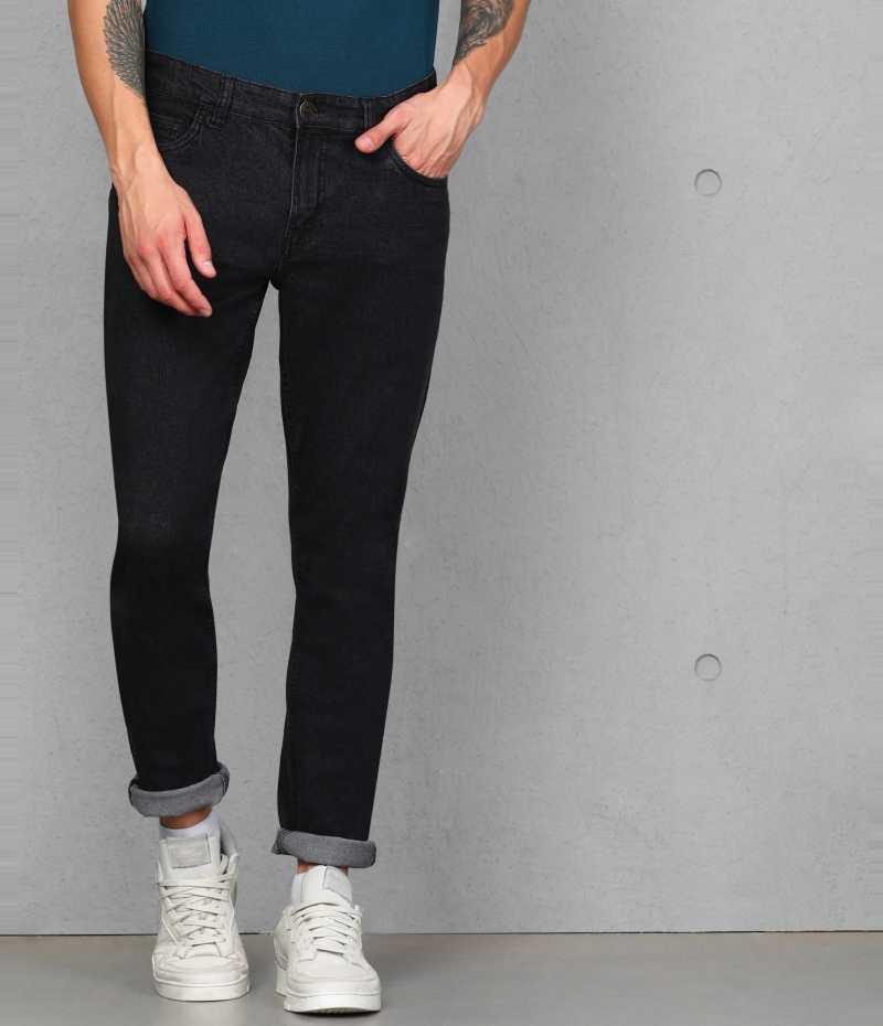 Flipkart deal Slim Men Black Jeans