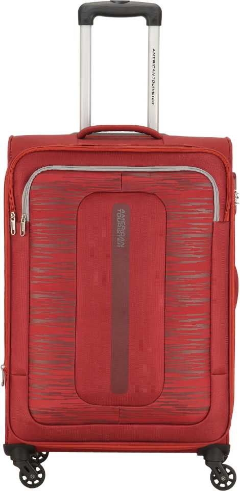 American TouristerSmall Cabin Luggage (57 cm) – Brisbane Spinner 55 cm-Red – Red