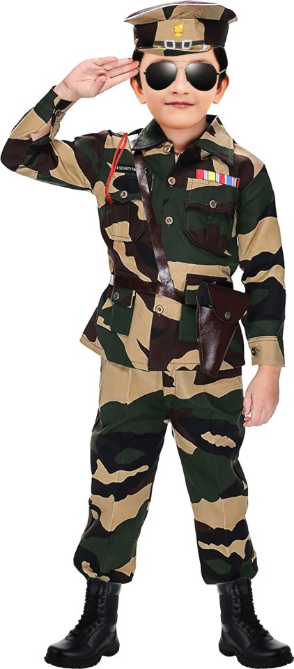 Chandrika Army 4 – 5 Years Kids Costume Wear