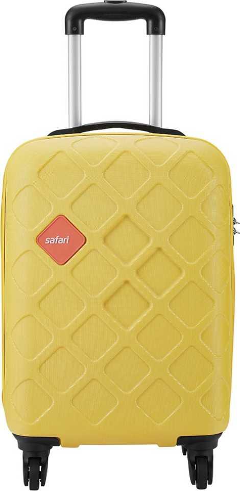SAFARI  Small Cabin Luggage (55 cm) – Mosaic 55 4W Lemon