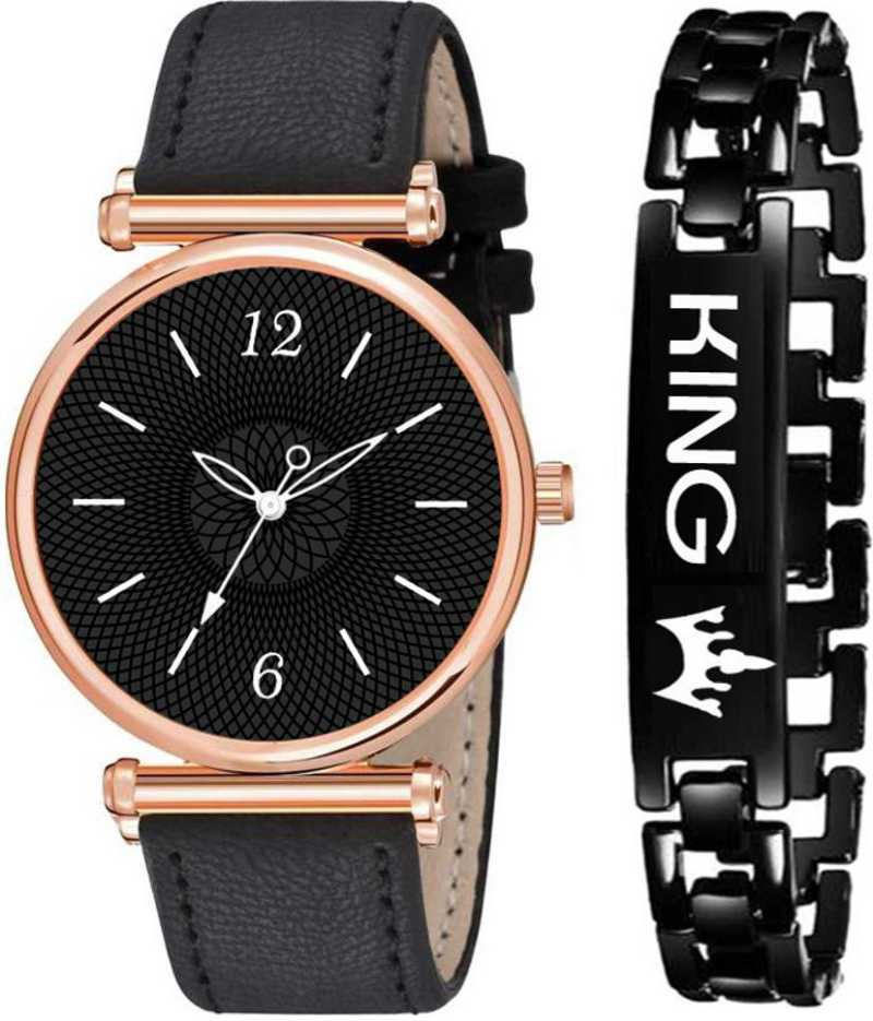 New Unique Collection Black Dia Analog Watch – For Boys