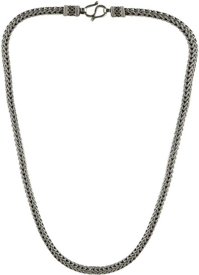 e92623395de798 Arisidh Latest Design 925 Pure Sterling Silver Chain for Men, Women , Boys  and Girls Silver Chain Price in India - Buy Arisidh Latest Design 925 Pure  ...