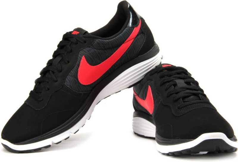 Nike Dual Fusion Retro Running Shoes For Men Buy Black Crimson Color Nike Dual Fusion Retro Running Shoes For Men Online At Best Price Shop Online For Footwears In India