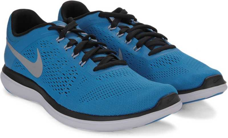 Recomendado ganso transferir  Nike FLEX 2016 Running Shoes For Men - Buy PHT BLUE/MTLLC SLVR-BLK-WHITE  Color Nike FLEX 2016 Running Shoes For Men Online at Best Price - Shop  Online for Footwears in India