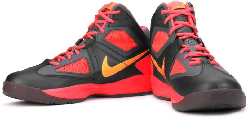 Propuesta Ejecutable sentido  Nike Zoom Born Ready Basketball Shoes For Men - Buy Black, Red Color Nike  Zoom Born Ready Basketball Shoes For Men Online at Best Price - Shop Online  for Footwears in India