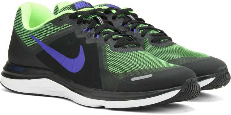 a3a53da59883 Nike DUAL FUSION X 2 Running Shoes For Men - Buy black racer  blue-volt-white noir volt bleu coureur Color Nike DUAL FUSION X 2 Running  Shoes For Men Online ...