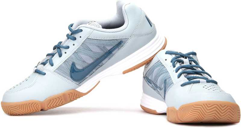 metálico Miniatura Discrepancia  Nike Court Shuttle V Badminton Shoes For Men - Buy White, Blue Color Nike  Court Shuttle V Badminton Shoes For Men Online at Best Price - Shop Online  for Footwears in India