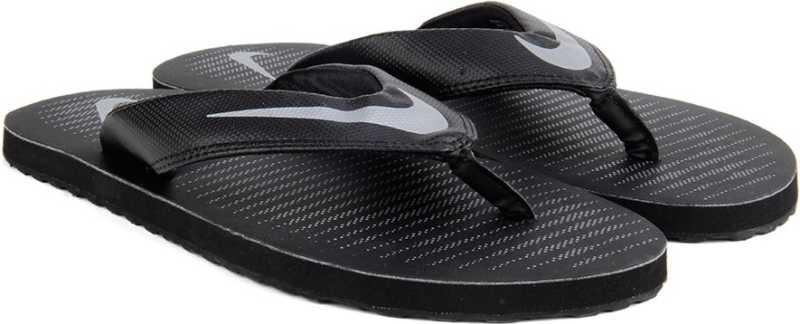 best service 5da98 844a8 Nike Slippers - Buy BLACK CHROME-COOL GREY Color Nike Slippers ...