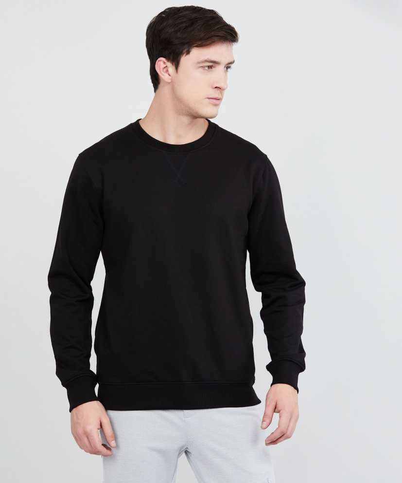 MAXFull Sleeve Solid Men Sweatshirt
