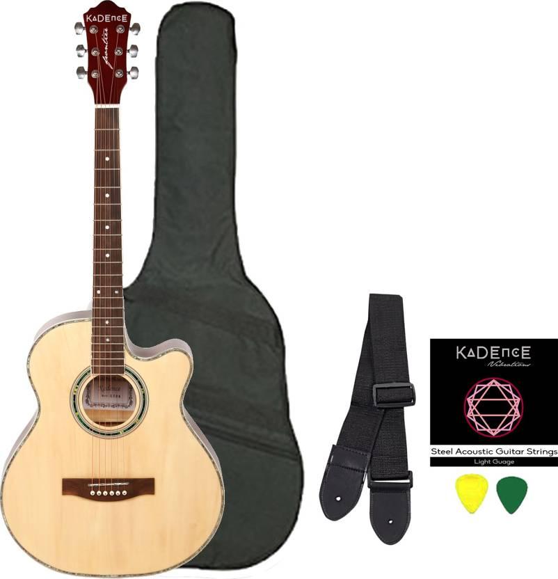 Kadence KAD-NAT-C Spruce Acoustic Guitar