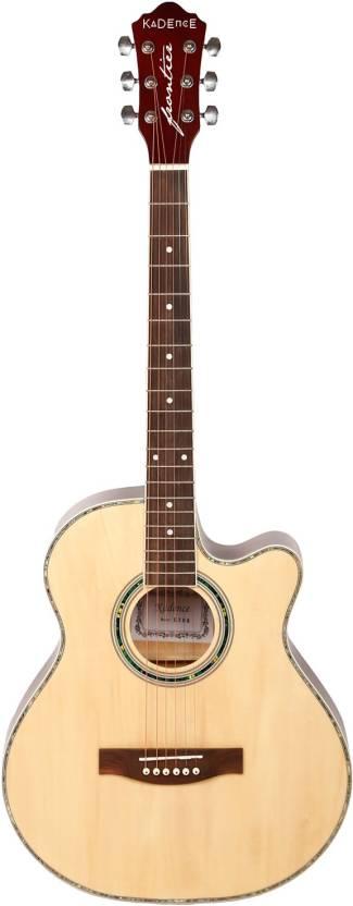 Kadence KAD-FNTR-NAT Spruce Acoustic Guitar