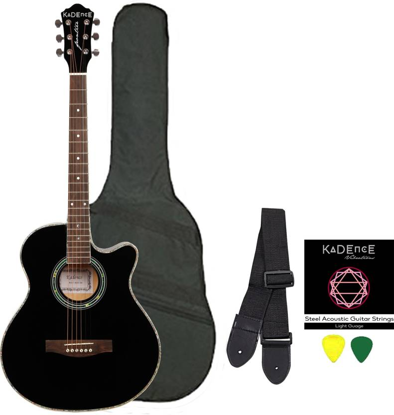 Kadence KAD-BLK-C Spruce Acoustic Guitar