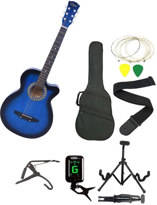 Zabel ZBL-BLU-SC Linden Wood Acoustic Guitar