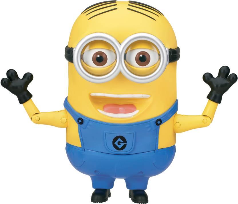 Thinkway Toys Minion Dave - Talking Action Figure - Minion Dave ... 14e0841dd
