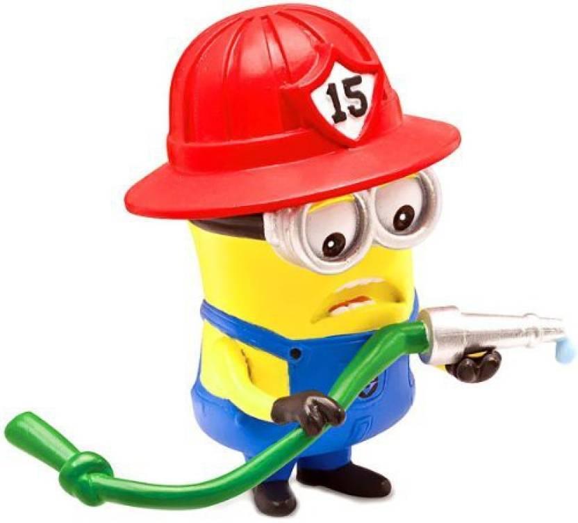 Disney Despicable Me 2 Minion Fireman Posable Despicable Me 2