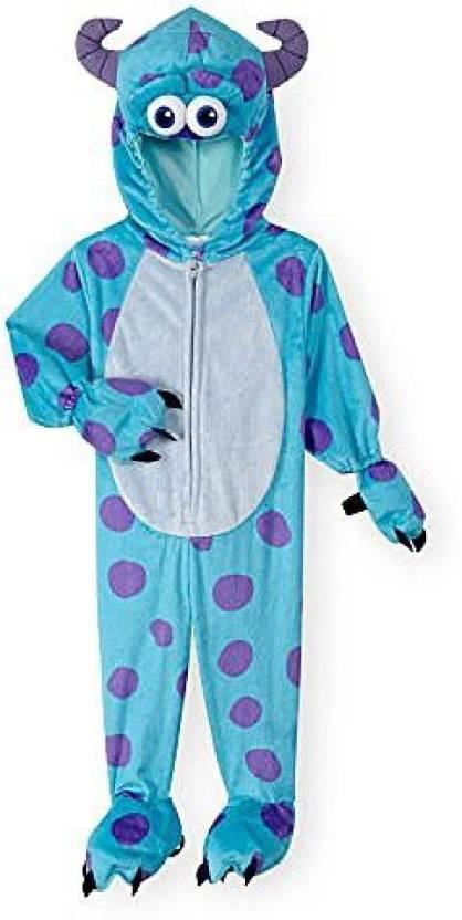 Halloween Costume 4 5.Babies R Us Boys Blue Purple Monsters Inc Sulley Halloween