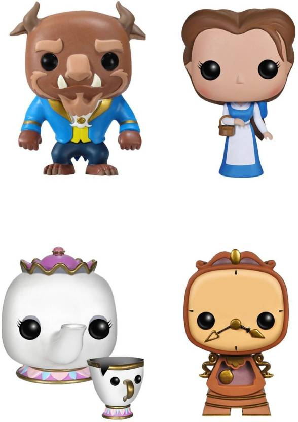 Funko Beauty And The Beast Movie Pop Disney Collectors Set
