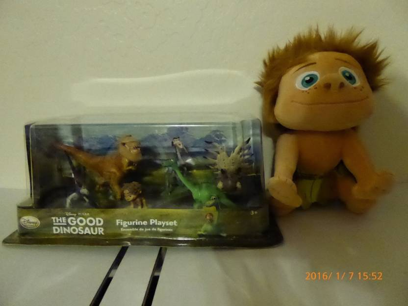 Disney The Good Dinosaur Spot plus Figurine Playset - The Good ... 9c72e7d0d