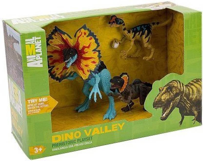 Toys R Us Animal Planet Prehistoric Dino Valley Playset