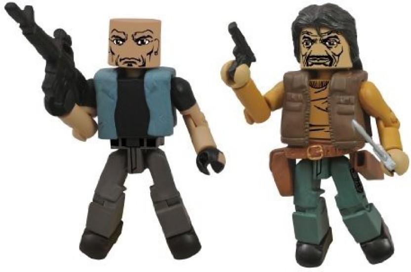 Walking Dead Minimates Series 4 Shoulder Zombie