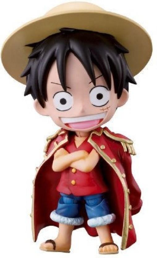 ONE PIECE Half Age Characters Vol Monkey D 1 Luffy Mini Figure Bandai