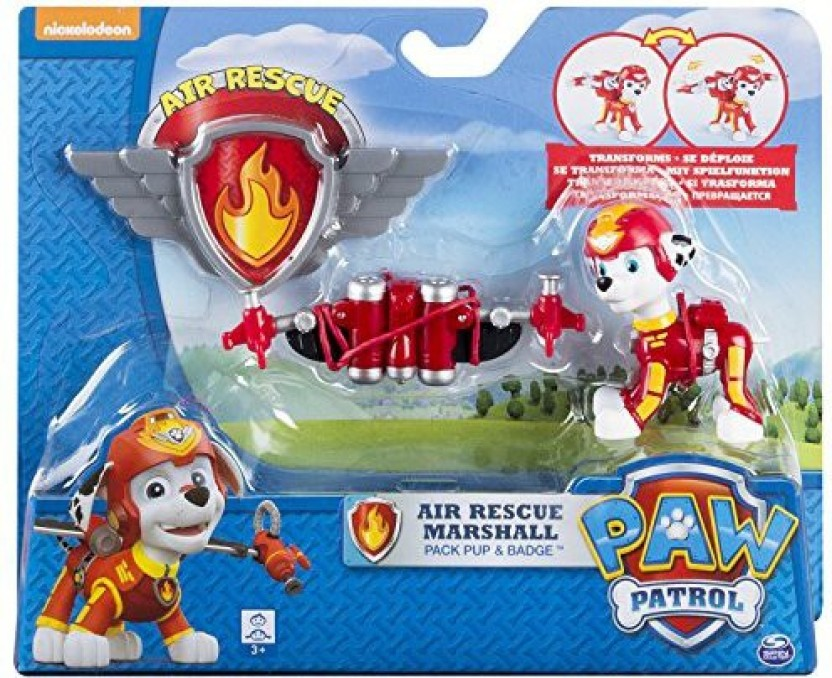 Air Rescue Chase Figure Please Read Description! Pup Pack Paw Patrol