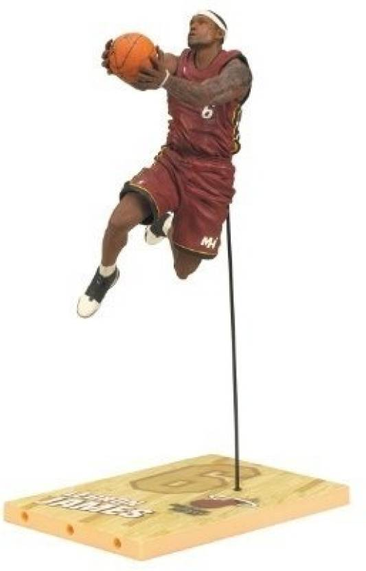 official photos cfdbc 771ea McFarlane Toys NBA Series 19 - Lebron James - NBA Series 19 ...