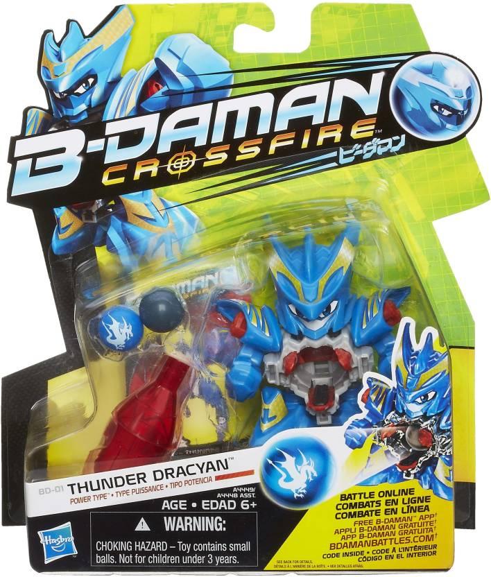 Takara Tomy B-Daman Figure Crossfire - Thunder Dracyan