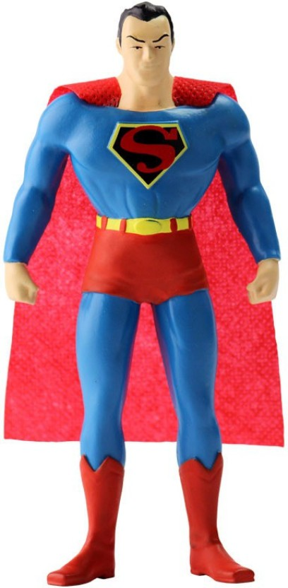 5.5 Inch Superman New Frontier Classic Superman Bendable Figure