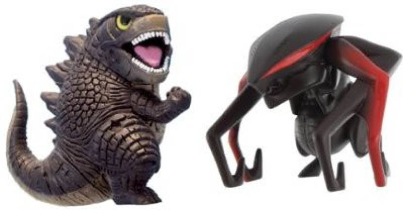 Godzilla Movie Chibi Figure 2 Pack With Godzilla Figure B And Muto