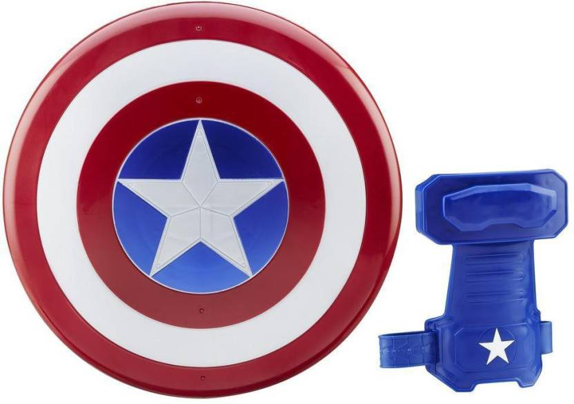 4276c2e507 Funskool Marvel Captain America: Civil War: Magnetic Shield & Gauntlet  (Multicolor)