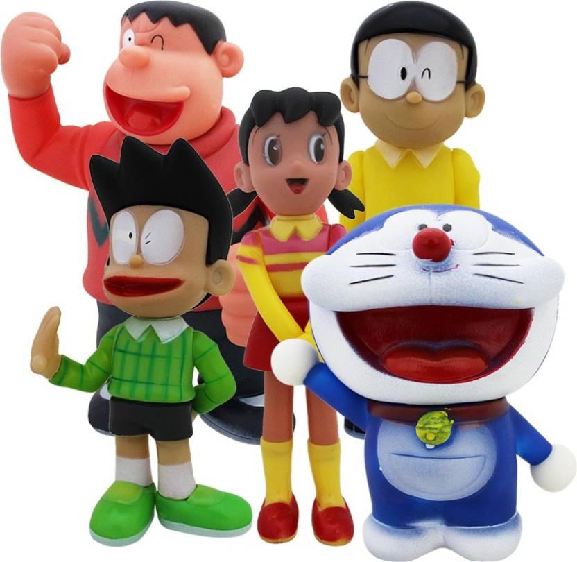 global toys games cute doraemon family doraemon gian nobita suneo