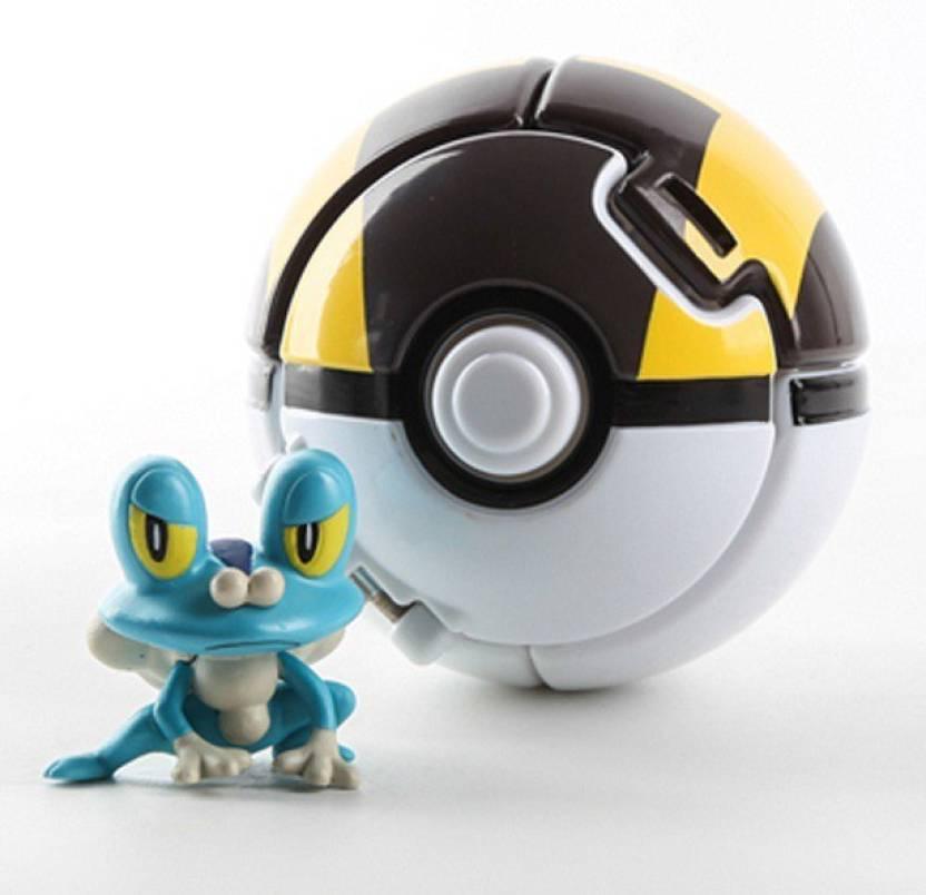 switch control throw n pop pokemon ball and figure throw n pop