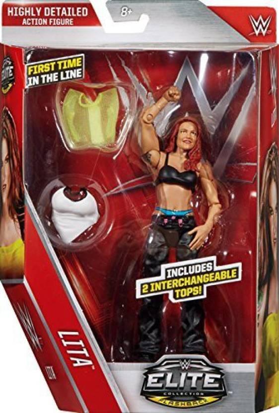 Wrestling Lita - Wwe Elite 41 Mattel Toy Action Figure