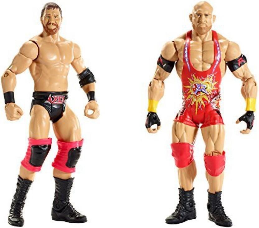 WWE Ryback Key Ring // Key Chain Wrestling Figures