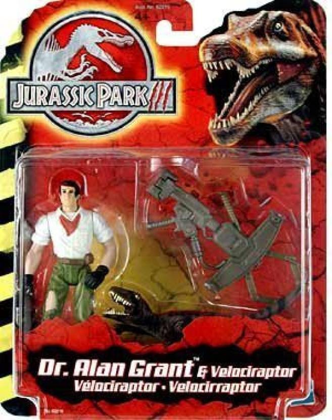 Jurassic Park Iii Dr Alan Grant With Velociraptor - Iii Dr