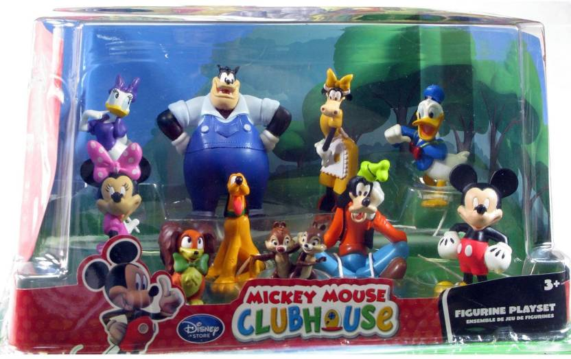 ddd5d3f1a2b Disney Mickey Mouse Clubhouse Micky Mouse and Friends Figurine Delux Set  (Multicolor)