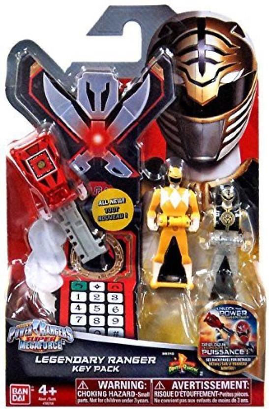 Mega Bloks Power Rangers blue ranger Super Megaforce Series 2 Figure