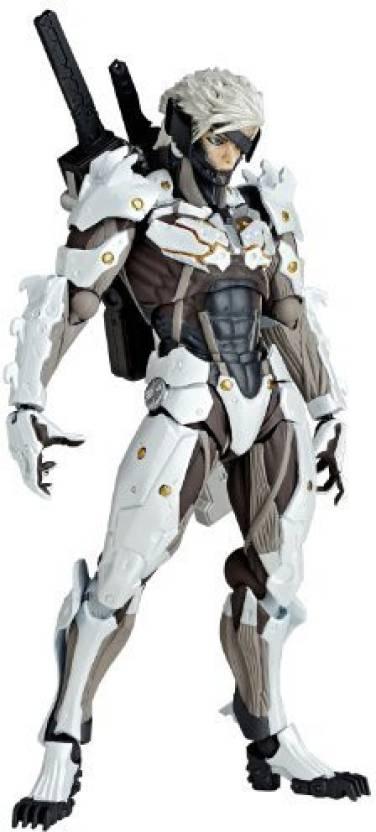 Metal Gear Rising Revengeance Kaiyodo Revoltech Yamaguchi No140Ex Raiden White Armor