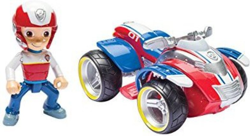 Vechicle and Figure Paw Patrol Ryders Rescue ATV