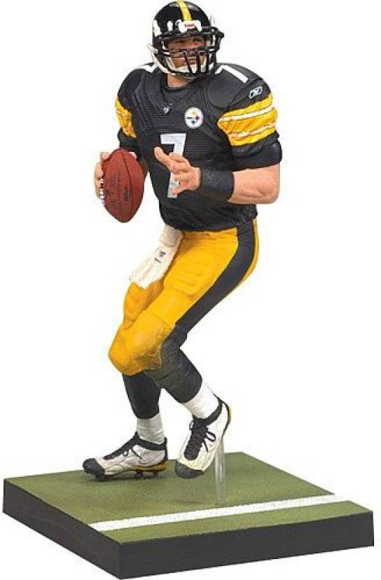 Unknown Toys Pittsburgh Steelers Ben Roethlisberger Wave 1 Series 20 Action  Figure (Multicolor) 8017ee24c
