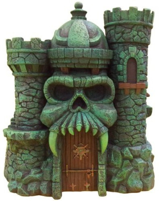 Masters of the Universe Castle Grayskull replacement piece top of training post