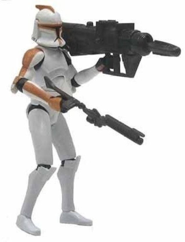 Hasbro Star Wars Clone Wars Animated Action Figure   Clone Trooper 212th  Attack Battalion