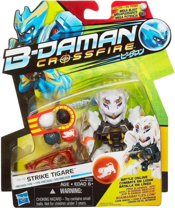 takara tomy b daman crossfire strike tigare
