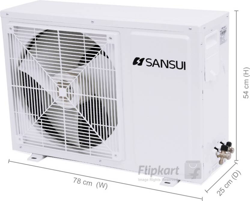 Sansui 1 Ton 5 Star Split AC  - White