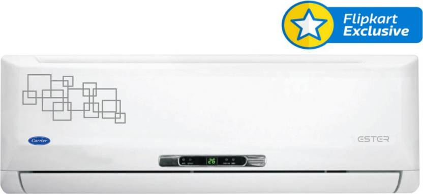 Carrier 1.5 Ton 5 Star Split AC White - Just Rs. 32990 + No Cost EMI By Flipkart | Carrier 1.5 Ton 5 Star Split AC White  (18K Ester 5 Star) @ Rs.32,989