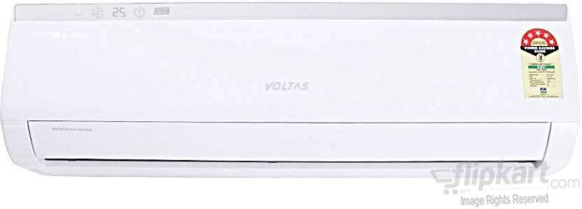 Voltas 1.5 Ton 5 Star Split AC - White  (185Cya, Aluminium Condenser)