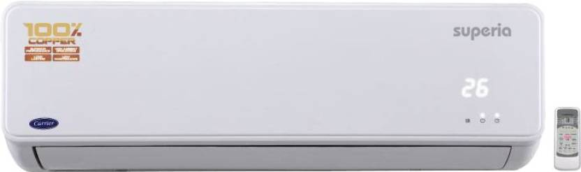 Carrier 1.5 Ton 3 Star Split AC  - White